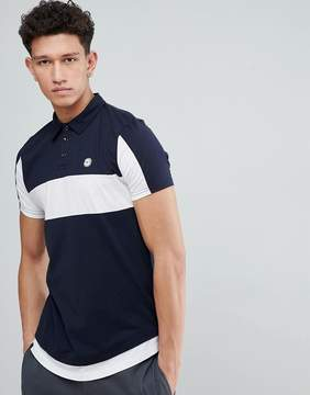 Le Breve Color Block Polo Shirt