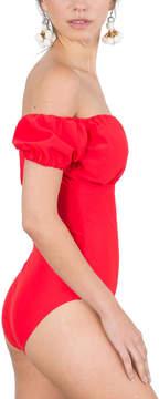 Bardot Red One-Piece - Women