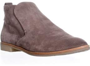 Dolce Vita Colt Casual Slip On Ankle Booties, Dark Taupe Suede.