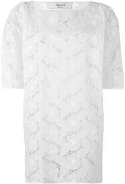 Blugirl lace-detail top
