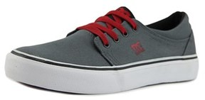 DC Trase Tx Round Toe Canvas Skate Shoe.