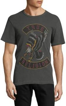 True Religion True Eagle Cotton Tee
