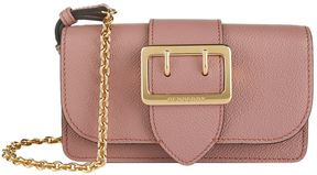 Burberry Mini Buckle Bag With House Check - PINK - STYLE