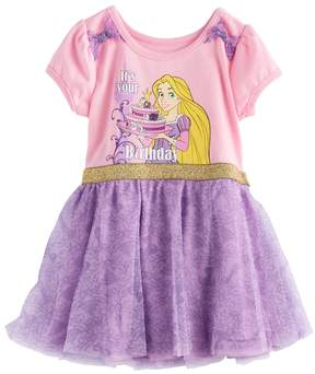 Disney Disney's Tangled Rapunzel Toddler Girl Birthday Tulle Dress