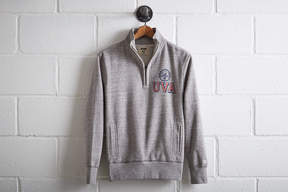 Tailgate Men's UVA Half-Zip Fleece Popover