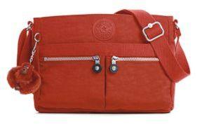 Kipling Angie Shoulder Bag - RED RUST - STYLE