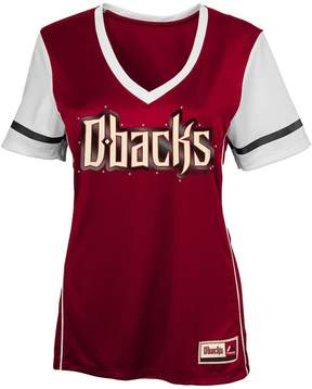 Majestic Girls 7-16 Arizona Diamondbacks Curveball Tee