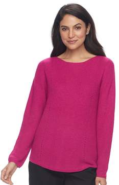 Croft & Barrow Women's Pointelle Sweater
