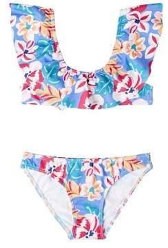 MANGO Floral print bikini