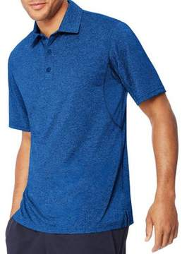 Hanes Sport Big Men's Heathered Performance Polo