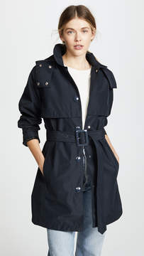 Hunter Boots Mid Length Trench Coat