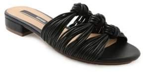 Kensie Kylee Strappy Knot Slide Sandals