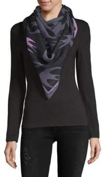 McQ Abstract-Print Scarf