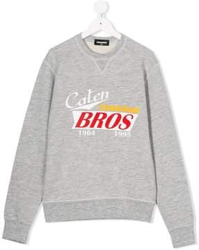 DSQUARED2 Caten bros print sweatshirt