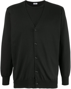 EN ROUTE layered V-neck cardigan