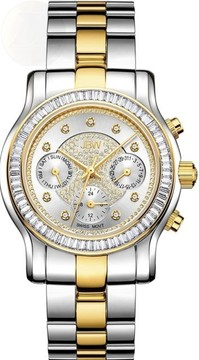 JBW Laurel Diamond Silver Dial Ladies Watch