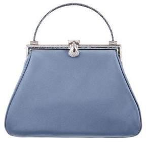 Judith Leiber Embellished Satin Evening Bag