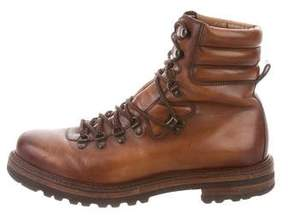 Magnanni Leather Hiking Boots