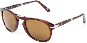 Persol Men's Icons Foldable Aviator Frame