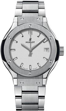 Hublot 581.nx.2611.nx Classic Fusion Quartz Titanium 33mm Mens Watch