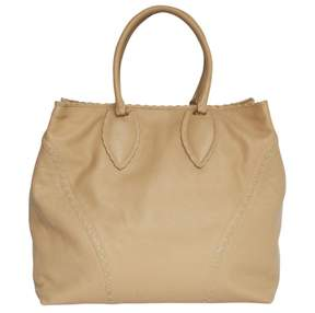 Alaia Beige Leather Handbag