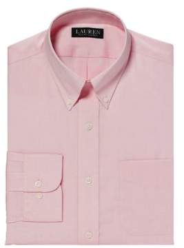 Lauren Ralph Lauren Classic Fit Pinpoint Oxford Dress Shirt