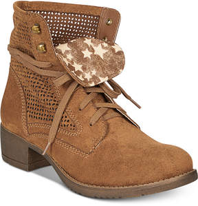American Rag Ramona Lace-Up Combat Boots, Created For Macy's Women's Shoes
