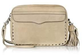 Rebecca Minkoff Women's Beige Leather Shoulder Bag. - BROWN - STYLE