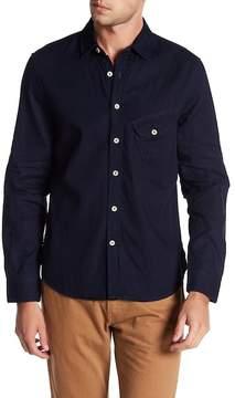 Joe's Jeans Ty Woven Denim Regular Fit Shirt