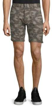 Slate & Stone Camouflage-Print French Terry Shorts