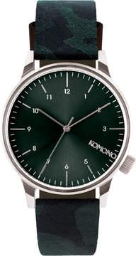 Komono Winston Print Camo Watch