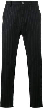 Lot 78 Lot78 Pinstripe tapered trousers