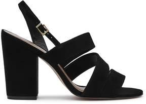 Reiss Naomi Suede Block-Heel Shoes