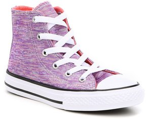 Converse Girls Chuck Taylor All Star Hi Top Sneakers