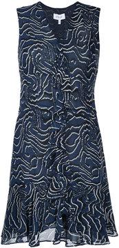 Derek Lam 10 Crosby v-neck printed dress