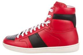 Saint Laurent SL/10H High-Top Sneakers