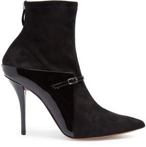Givenchy New Feminine suede and leather ankle boots