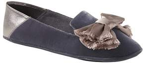 Banana Republic Velvet Slipper with Satin Bow