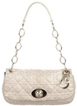 Christian Dior Cannage Flap Shoulder Bag