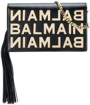 Balmain logo plaque crossbody