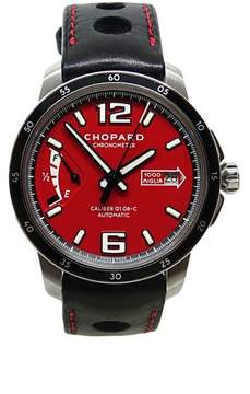 Chopard Stainless Steel Millie Miglia Chronometer Automatic 43mm Mens Watch