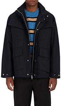 Marni Men's Oversized Insulated Cotton Twill Field Jacket
