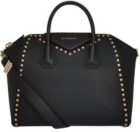 Givenchy Medium Antigona Smooth Studded Tote Bag