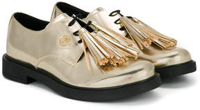 Miss Blumarine tassel lace-up shoes