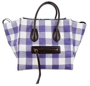 Celine Gingham Medium Phantom Tote