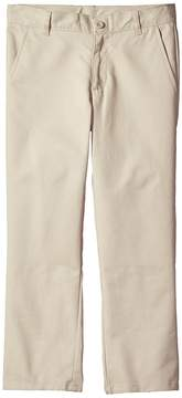Nautica Husky Flat Front Twill Double Knee Pants Boy's Casual Pants