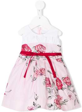 Simonetta rose print dress