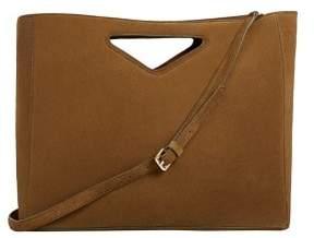 MANGO Double-strap leather bag