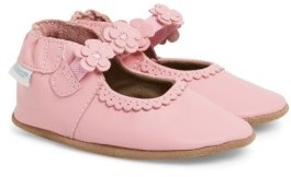 Robeez Infant Girl's 'Claire' Mary Jane Crib Shoe