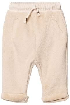 Emile et Ida Cream Fuzzy Pants